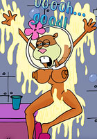 Winx Club Sandy Cheeks was seduced and fucked