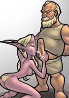 best World of Warcraft Busty Elves fucked by horny Dwarfs Comics toons