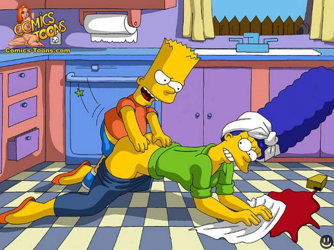Если Вы искали порно версию мультфильма Мардж Симпсон для взрос
