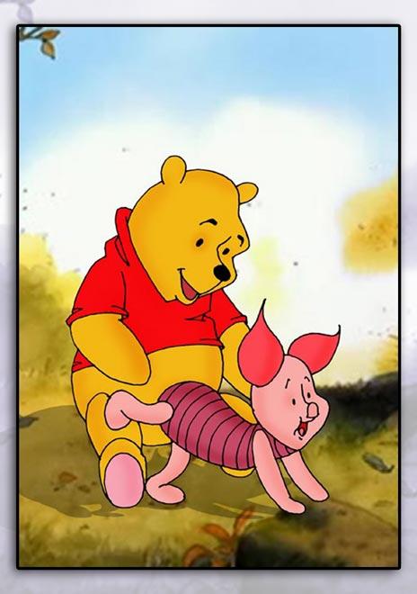 Convinced believe Pooh bear cartoon sex